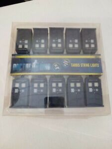 Doctor Who Tardis String Lights - Carlisle Co. - 9ft Long, Indoor/Outdoor
