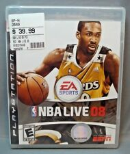NBA Live 08 (Sony PlayStation 3, 2007) PS3 - NEW! - Factory Sealed!