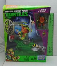 Leo Pizza Fury Teenage Mutant Ninja Turtles Mega Bloks Set New Sealed TMNT 2016