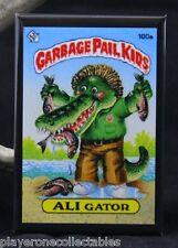 "Garbage Pail Kids Ali Gator 2"" X 3"" Fridge / Locker Magnet. Funny Gift Idea!"