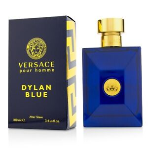 NEW Versace Dylan Blue After Shave Lotion 100ml Perfume