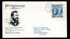 Canada #274 Alexander Graham Bell March 3 1947 Brantford ONT, Art Craft Cachet