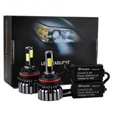 120W 12800lm 4 Sides CREE LED Headlight Kit 9007 HB5 Hi/Low Beam 6000K Bulbs 12V