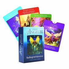 78pcs Angel Tarot Cards Deck and Guidebook Full English Playing Cards Board Game