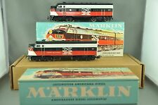Marklin New Haven Diesel Locomotive 3062 and 4062 Excellent condition, boxed