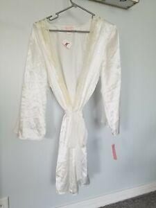 Oscar de la renta pink label White Bride/wedding XL Robe