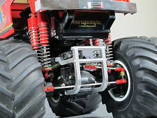 Aluminum Axle Lower Bumper Protector Grill Tamiya RC 1/10 Super Clodbuster Truck