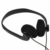 Pro Signal Stereo Extendable Over Head Earphones with 3.5mm Jack 1.2m