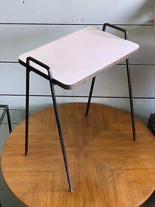 Vintage Mid Century Modern Side Table Eames Era