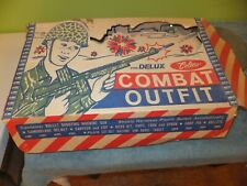 Coleco Delux Combat Outfit with Accessories and original box