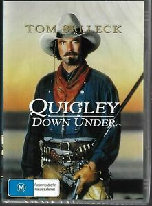 Quigley Down Under DVD Tom Selleck New and Sealed Australia