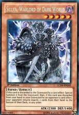 Sillva, Warlord of Dark World 1st X 3 Lcjw Secret English  New yugioh Cards