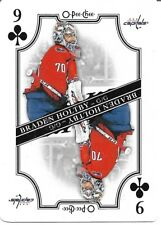 Braden Holtby #9-CLUBS - 2019-20 O-Pee-Chee - Playing Cards