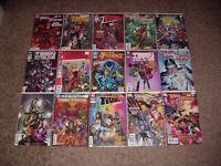 AWESOME LOT OF 50 TEEN TITANS COMICS 90's-2019 ROBIN NIGHTWING WONDER GIRL VF/NM