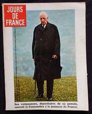JOURS DE FRANCE Revue [DE GAULLE] n°831 1970
