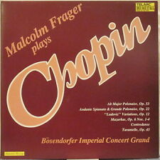 CHOPIN Malcolm Frager Plays Chopin LP – on Telarc, Pressed in Germany