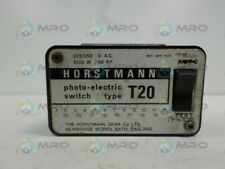 HORSTMANN T20 PHOTOELECTRIC SWITCH *USED*