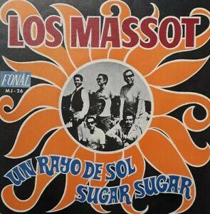 """Los Massot-Un Rayo De Sol/Sugar Sugar 7"""" Single.1970 Fonal MJ 26."""