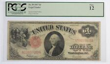 Series 1917 Large Size $1 Legal Tender US Note Sawhorse rev PCGS Fine 12  Fr#39