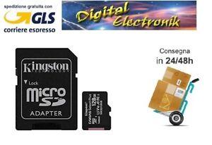 MICRO SD  KINGSTON SDCS2 CANVAS SELECT PLUS  128 GB 100 MB/S MEMORIA
