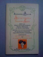 Alphonse Allais Lettre inédite à Charles Cros 250ex