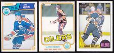 81-82 OPC Jari Kurri Rookie O-PEE-CHEE RC 1981-82 Oilers NM-MINT