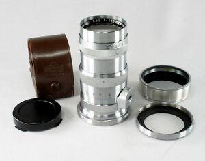 Nikon Nikkor Q C 3.5/13.5 cm, Serial #259755, in Contax Mount