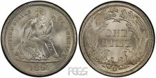 PCGS Certified MS 63 Graded Seated Liberty Dimes (1837-1891)