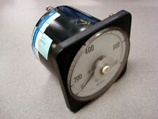 USED Crompton Instruments 077-08AA LSSN Ampere Meter 0-800 Amps