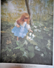 """""""Enchanted Forest"""" by Donald Zolan 1992 Lithograph 25x20"""