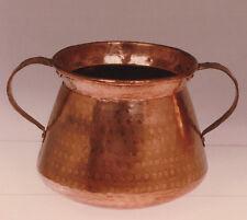 Olla catalana hecha a mano en cobre. Catalan pot handmade copper