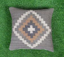 """Jute Cushion Cover Handmade Home Decorative Pillow Cover Throw Sham Cover 18"""""""