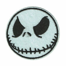 Jack Skellington Embroidered Iron-On Patch Nightmare Before Christmas