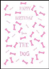 Novità Buon Compleanno Biglietto D'Auguri dal cane - 3P-Own Design