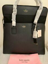 NWT Kate Spade Cameron Street Marybeth Large Tote Laptop Bag $398 BLACK PXRU7708