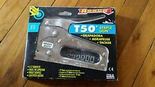 T50 ARROW STAPLE GUN NEW IN PACKAGE SLIGHTLY USED FREE SHIPPING!
