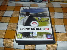 PC CD ROM LFP MANAGER 2010 unsealed RARE Win Vista XP French EA SPORTS