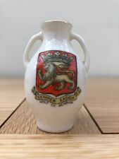 W H Goss Exeter Vase - Crest for Holt, Co. Denbigh