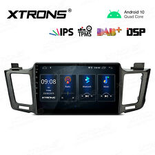 "Android 10.0 10.1"" Car GPS Stereo Radio WIFI For TOYOTA RAV4 Left Hand 2013-2017"