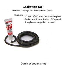 Vermont Castings Gasket Kit for Encore Front Doors + Cement  00006000