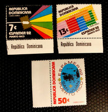 Dominican Republic Stamps Sc C365-C367 MNH