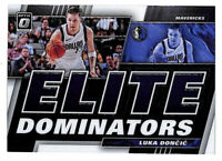 2019-20 Donruss Optic Luka Doncic Elite Dominators insert card Mavericks