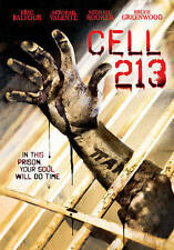 CELL 213 - ERIC BALFOUR  DEBORAH VALENTE  MICHAEL ROOKER 2008 HORROR DVD