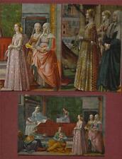 FIRENZE S. Maria Novella GHIRLANDAIO St John  Postcards Unused ART Italy la.3