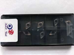 DCMT 070208 CARBIDE TURNING INSERTS (Read Description For My Quality Guarantee)