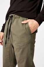 Cotton On Mens Drake Cuffed Pant Pants  In  Green