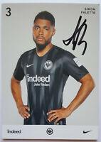 ⭐⭐⭐⭐ Dimon Falette ⭐⭐⭐ Autogramm Autogrammkarte ⭐⭐⭐ Eintracht Frankfurt⭐⭐⭐⭐