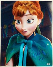 KRISTEN BELL Signed 16x20 Photo #3 Disney's FROZEN Voice of Anna Beckett BAS COA