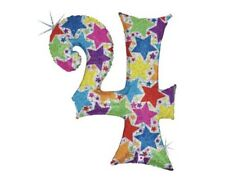 """Number 4 40"""" Megaloon Balloon Birthday Party Decorations"""