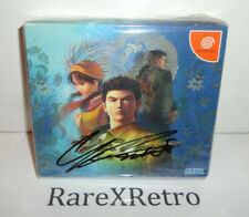 Shenmue (Sega Dreamcast, 2000) NEW Japanese Version Yokosuka *Signed* YU SUZUKI